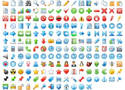 Icons sets 24x24 Application icons pack